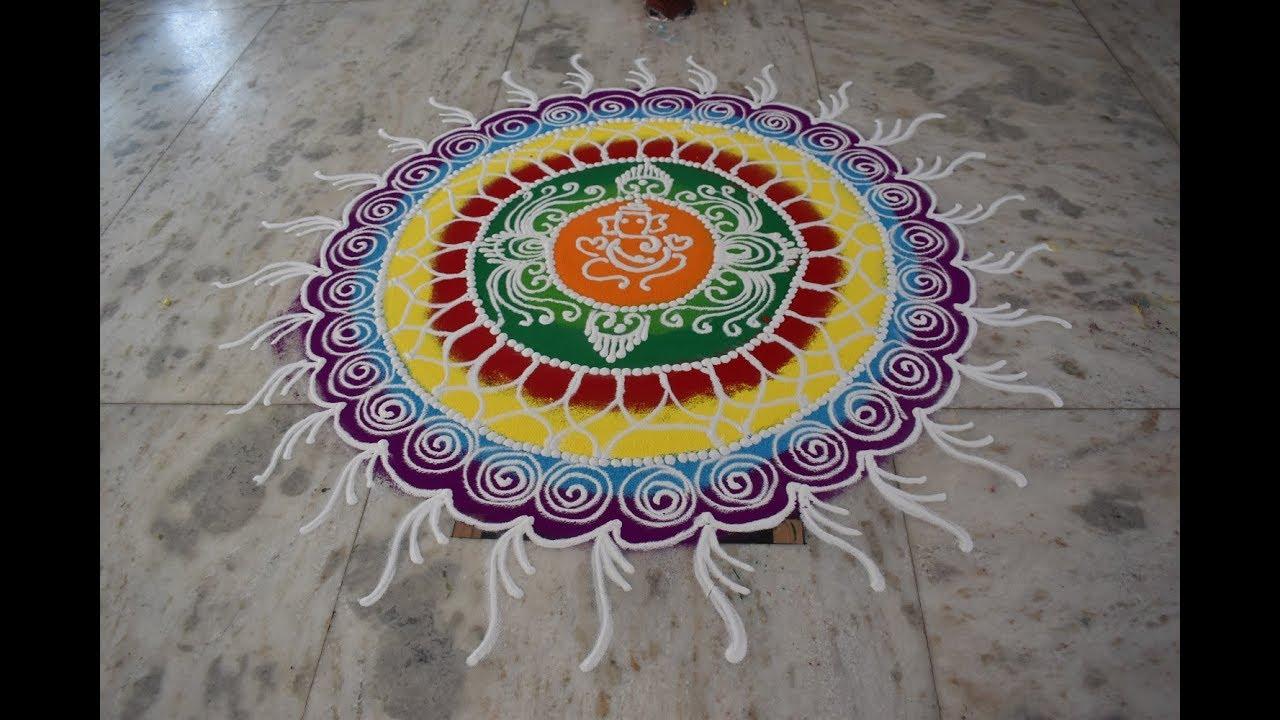 Diwali Festival Rangoli  || दिवाळी रंगोली