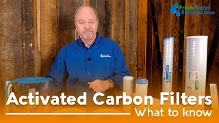 An activated carbon filter clears water of organic compounds that make your water taste or smell bad. Contaminants adhere to the surface of a carbon filter, and ...