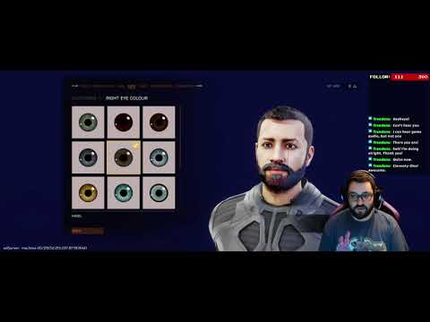 Space Sim Character creation done fast |