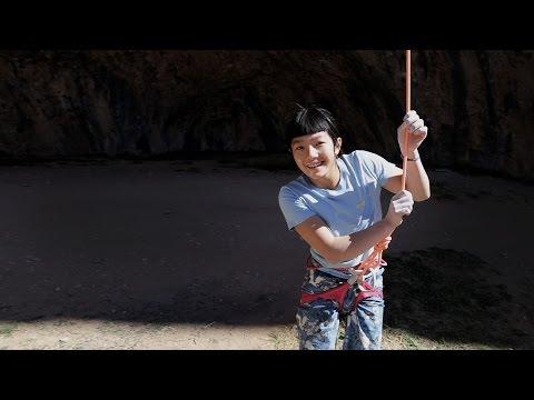 Petzl athlete Ashima Shiraishi sends 9a+ at age 13