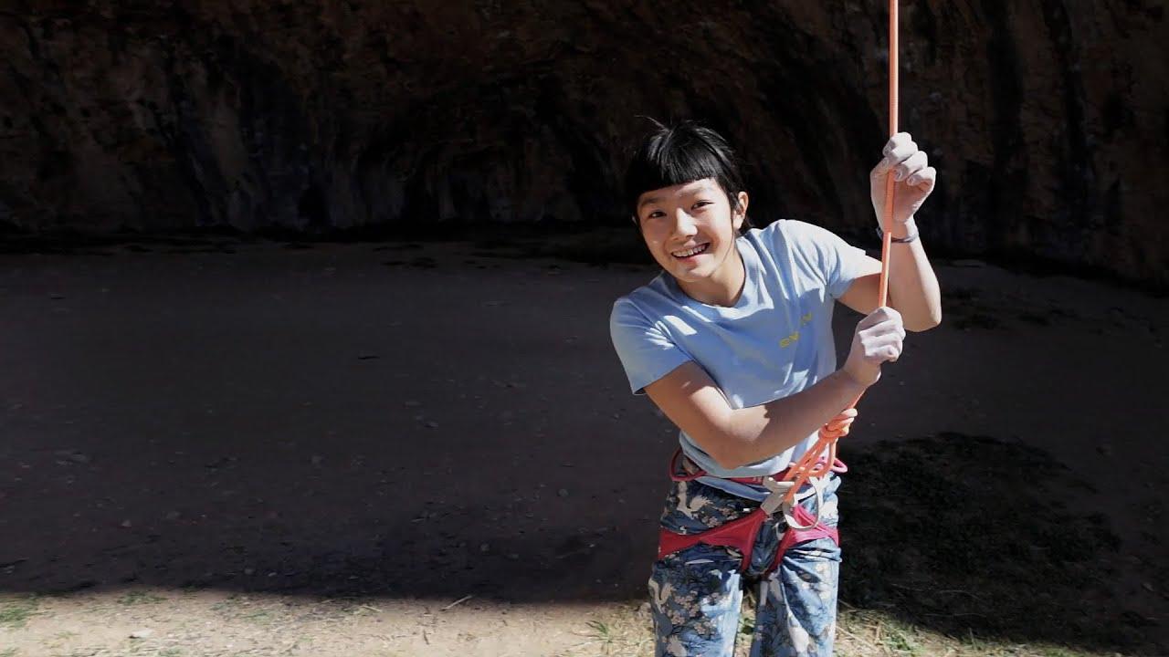 La atleta de Petzl Ashima Shiraishi escalando 9a/+ con 13 años de edad!!