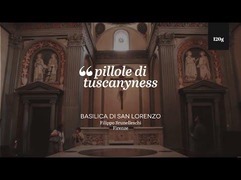 Pills of Tuscanyness - Basilica di San Lorenzo (Filippo Brunelleschi)