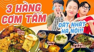 HNAG - So sánh 3 hàng cơm tấm đắt nhất Hà Nội: giá của Sà Bì Chưởng cũng không bằng!?