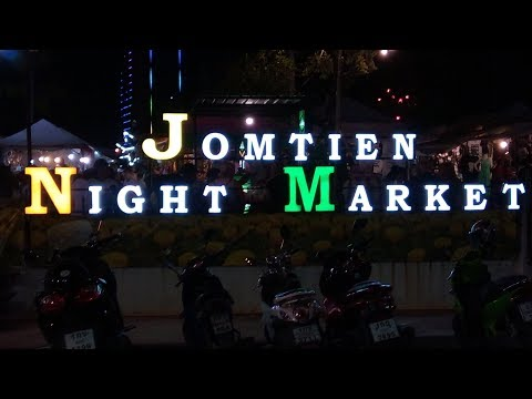 Friday 10th Nov 2017 Jomtien Pattaya night market