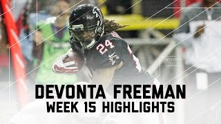 Devonta Freeman Rushes for 3 TDs & 139 Yards! | 49ers vs. Falcons | NFL Week 15 Player Highlights