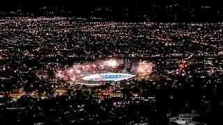 Increíble Recibimiento Al América de Cali 1 Vs Atlético Nacional 2