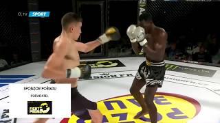 "2. Matěj ""Money"" Peňáz vs Mamadou Niakaté"