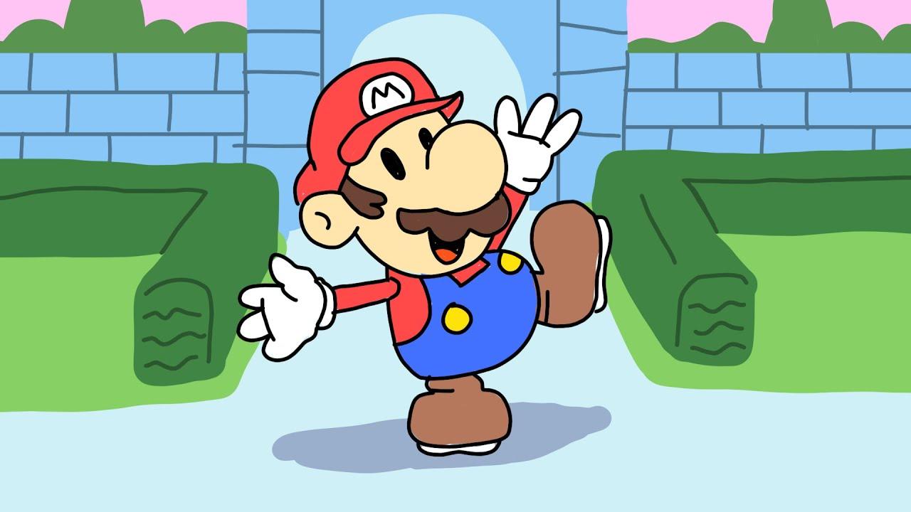 Paper Mario Nintendo Doodle Drawing!