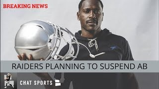 BREAKING: Raiders Planning To Suspend Antonio Brown After Altercation With Mike Mayock