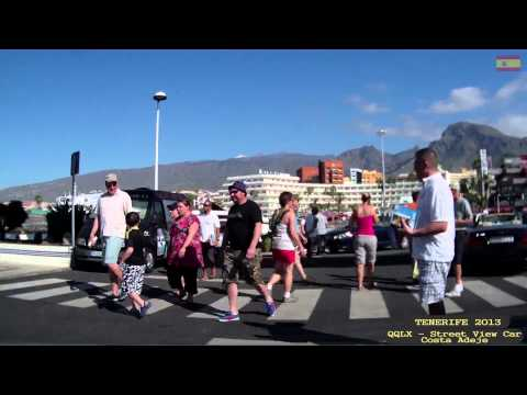 Qqlx 0126 Tenerife Costa Adeje Street View Car 2013 Youtube