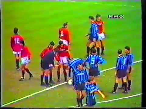 December 01 1985 Serie A, Inter vs AC Milan