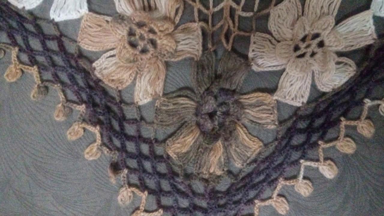 Kabak Çiçeği Şal Modeli