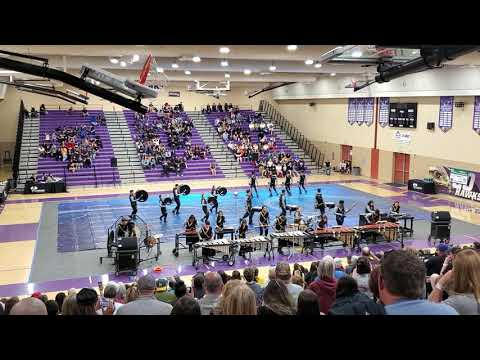 Mission Oak High School Winter Percussion: SVWAA Show 3
