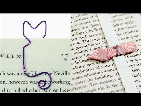 18 DIY BOOKMARK IDEAS FOR BOOKS AND NOTEBOOKS   14 ORIGAMI BOOKMARK IDEAS