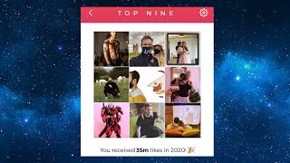 How to get your instagram top 9 2020 | posts end of year challenge