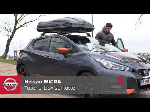 NISSAN TUTORIAL â?? BOX AL TETTO