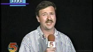 Prairie du Rocher, Illinois Flood of 93 St. Louis TV Coverage August 3 & 4 1993