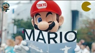 Mario, Pac Man and Others Get ready for the Tokyo 2020 Olympics