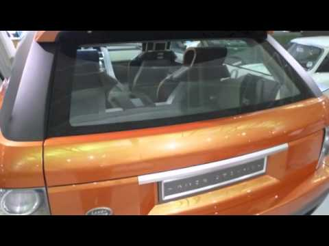 2004 Range Rover Range Stormer Concept Up Close