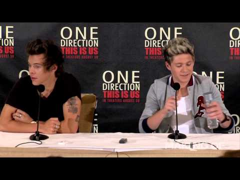 """One Direction: This Is Us"" Press Conference"