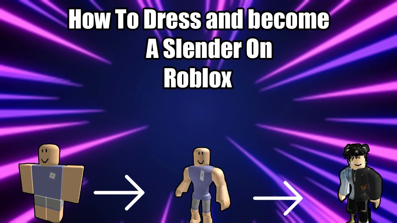 Slender Man Roblox Avatar Mocap How To Dress Like A Slender On Roblox Youtube