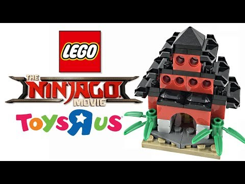 LEGO Ninjago Red Temple Review! Free Toys