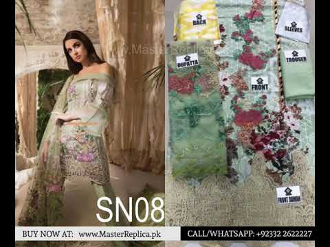2b5904fd7a Sobia Nazir Master Replicas with Prices Buy Now | Latest Sobia Nazir Master  Replicas 2018