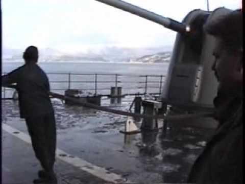 USS Deyo DD-989 Norway Feb 1995