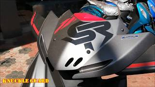 2018 Yamaha Ray ZR Street Rally Racing Red Review I Features, Price & Specifications