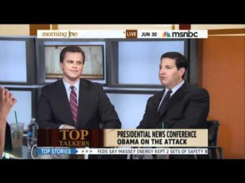 "Mark Halperin Calls President Obama a ""Dick"""