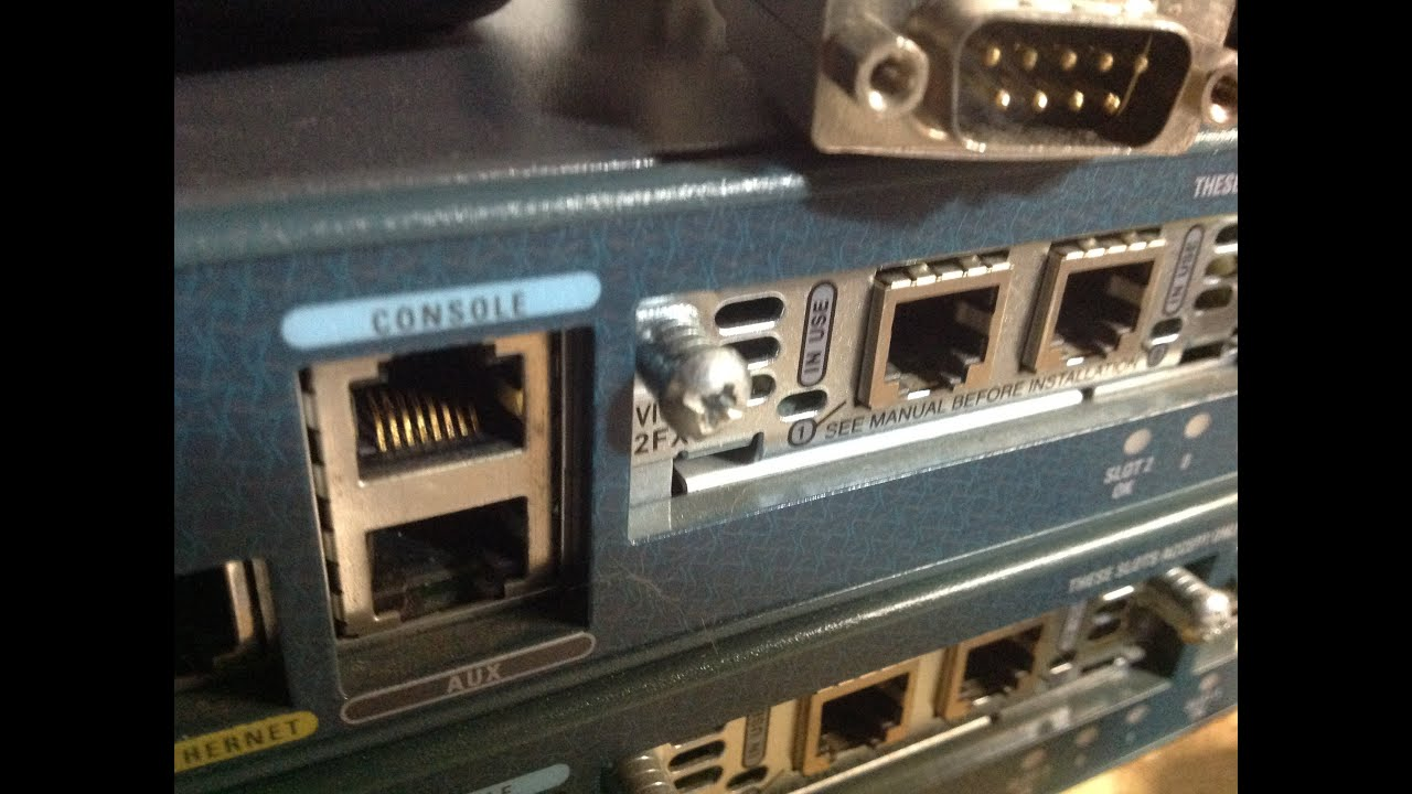 Connect To Cisco Console Port Youtube With Rs232 Db9 Connector Pinout On Ethernet Adapter Diagram Network Advisor