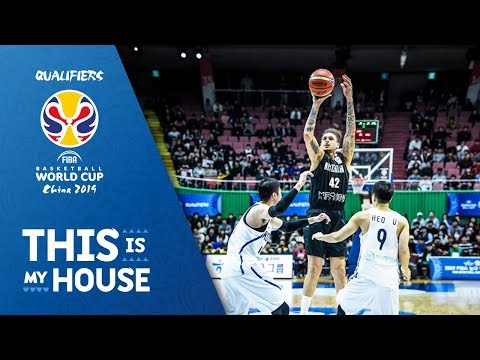 Korea v New Zealand - Full Game - FIBA Basketball World Cup 2019 - Asian Qualifiers