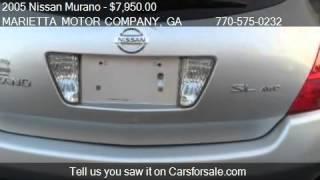 2005 Nissan Murano SL AWD 4dr SUV for sale in Marietta, GA 3