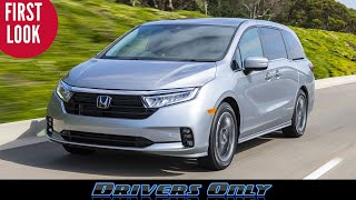2021 Honda Odyssey - Refreshed with New Look and Cabin Changes