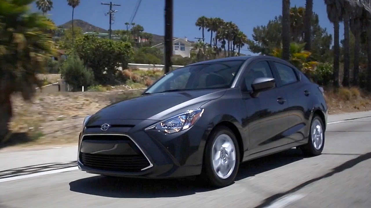 2016 Scion Ia Review And Road Test Youtube