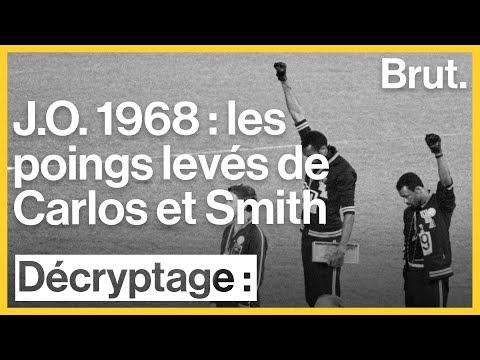 1968-2018 : les poings levés de Tommie Smith et John Carlos