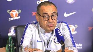 Maurizio Sarri Full Pre-Match Press Conference - Chelsea v Cardiff - Premier League