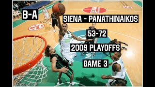 Siena DROWNED in Panathinaikos…