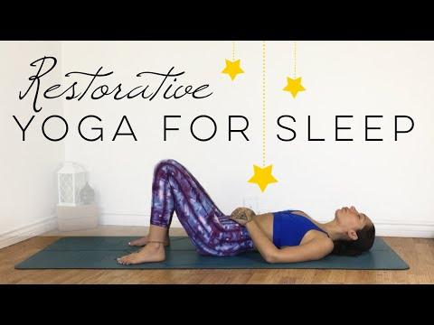 Yoga For Sleep And Relaxation   Restorative Yoga