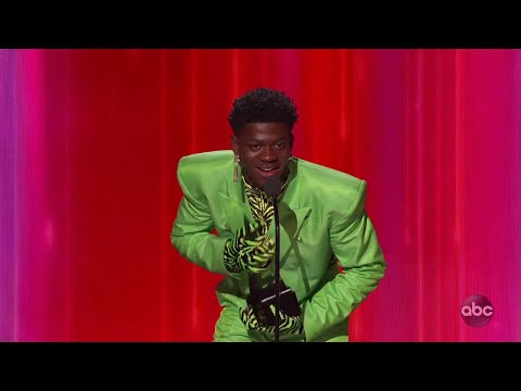 Lil Nas X Wins Favorite Song - Rap/Hip-Hop At The 2019 AMAs - The American Music Awards