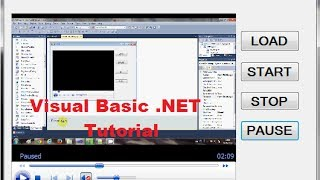 Visual Basic .NET Tutorial 29 - Using the Windows Media Player Control with VB.NET