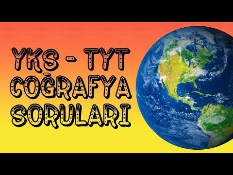 2018 TYT - YKS COĞRAFYA ÖRNEK SORULARI