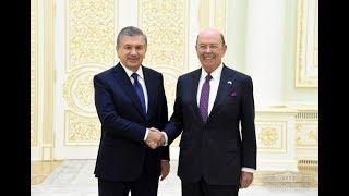 Президент Узбекистана принял министра торговли США