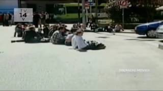 Most Daring: Impatient Driver Runs Over Protesters