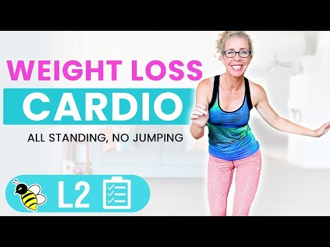 25 Minute Low Impact WEIGHT LOSS Cardio Workout for Women Over 50