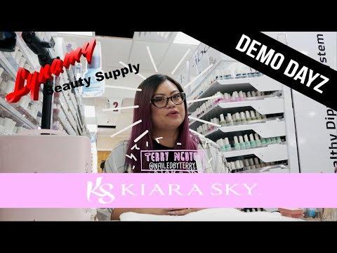 Kiara Sky Live Demo At Lynamy Beauty Supply – Demo Dayz Episode 1