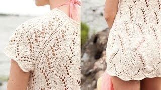 #14 Lace Tunic, Vogue Knitting Spring/Summer 2011