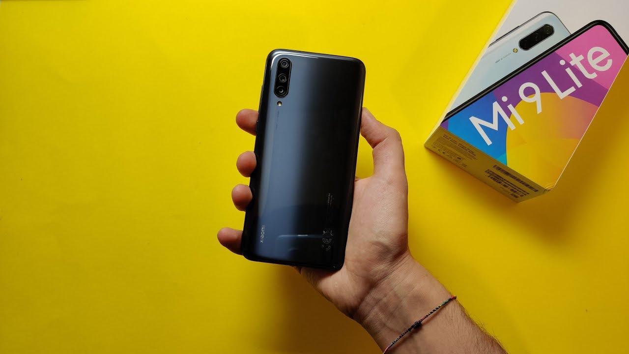 Xiaomi Mi 9 Lite Onyx Grey 6/128 GB - Unboxing & Setup!