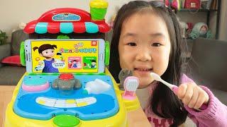 고기 야채도 잘먹고 양치질도 잘해요. 콩순이 식판 양치질 놀이.Kongsuni Plate Brushing Teeth Toy - 마슈토이 Mashu ToysReview