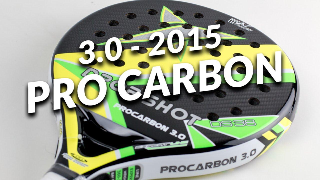 b21dfb2a Unboxing Pala Drop Shot Pro Carbon 3.0 2015 - YouTube